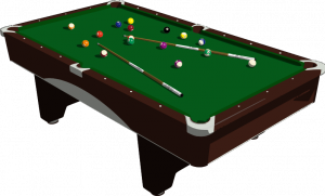 Pool Table Vector Image Public Domain Vectors Pool Table Billiard Table Billiards