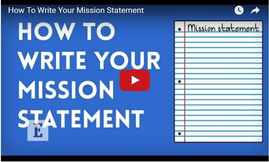 Don't know where to start with your mission statement? It
