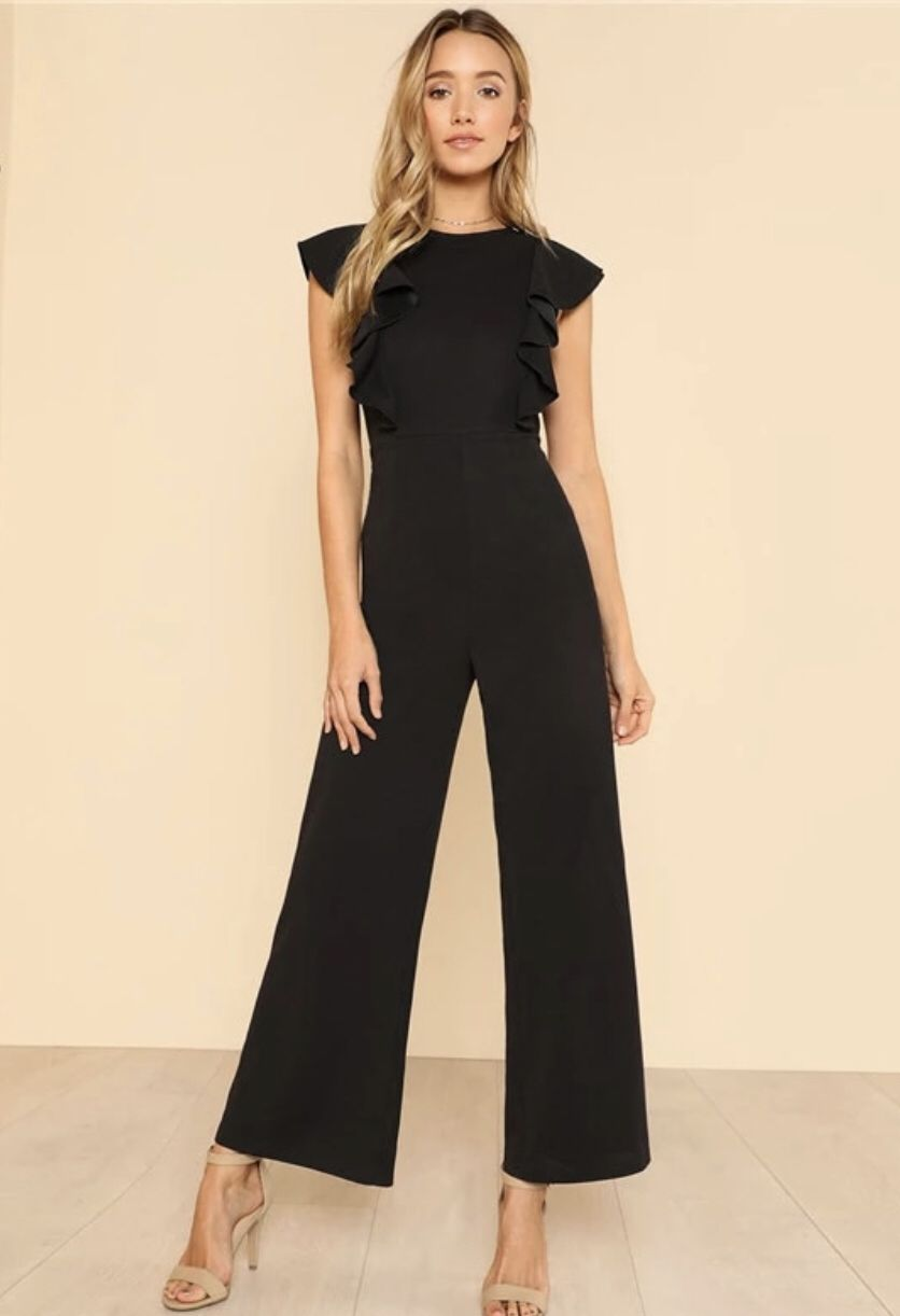 044659b51d2d Gorgeous black jumpsuit this coming fall