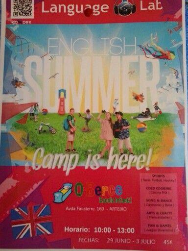 Campamento de inglés.