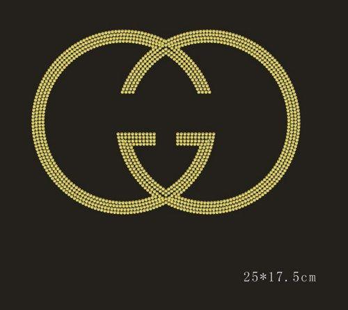 Gold Gucci Logo | Gucci Logo Gold 1x new gold gucci inspired