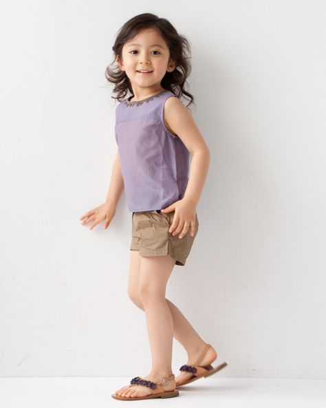 CARAMEL BABY & CHILD Tops BONPOINT Pants PEPE Sandals