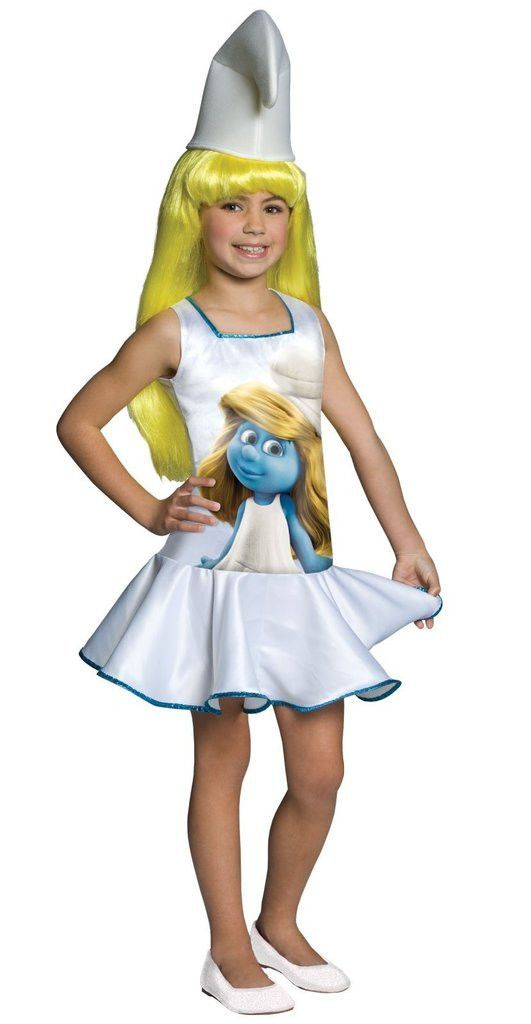 The Smurfs - Smurf Dress Child Costume  d657a2aab