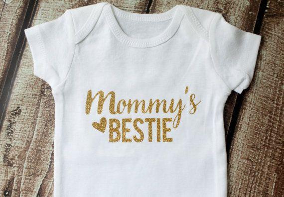 Mommy/'s Bestie Baby Shirt