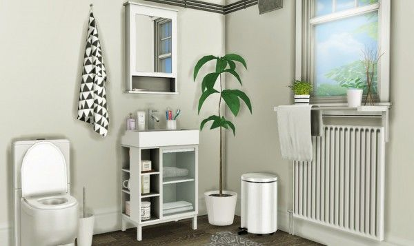 MXIMS: IKEA LILLÅNGEN Bathroom Set • Sims 4 Downloads | Sims 4 ...