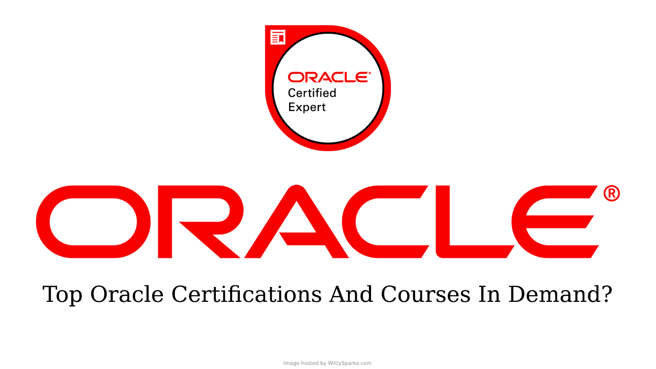 This Is The Oracle Certified Professional Certificate Earlier