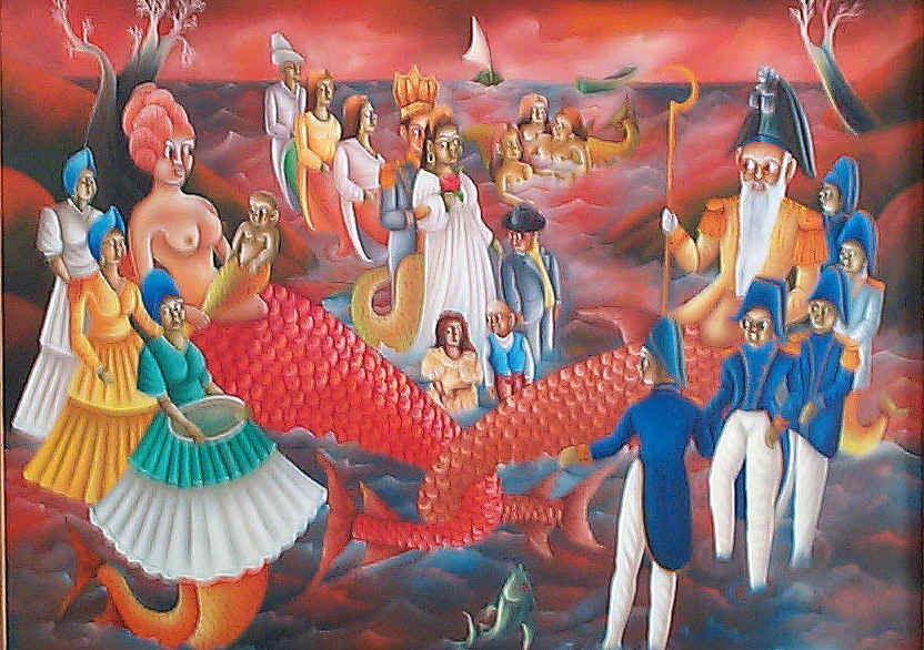 La Sirene Botanika Blog: La Sirene and Met Agwe--- Haiti