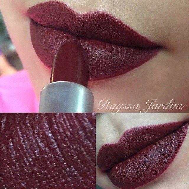 Mac lipstick sin matte maccosmetics lip color for Mac cosmetics diva lipstick