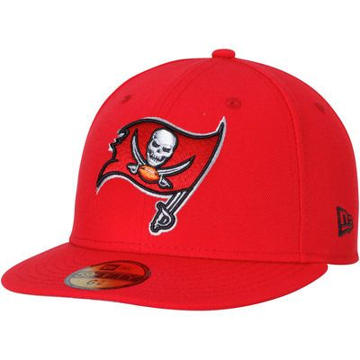 Tampa Bay Buccaneers New Era Omaha 59FIFTY Fitted Hat - Red