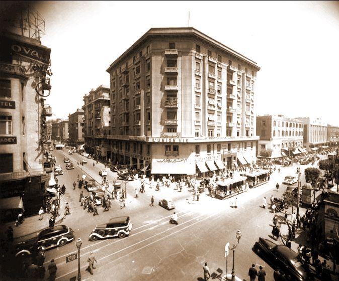 Downtown Cairo Circa 1932 Modern Egypt Egypt History Old Egypt