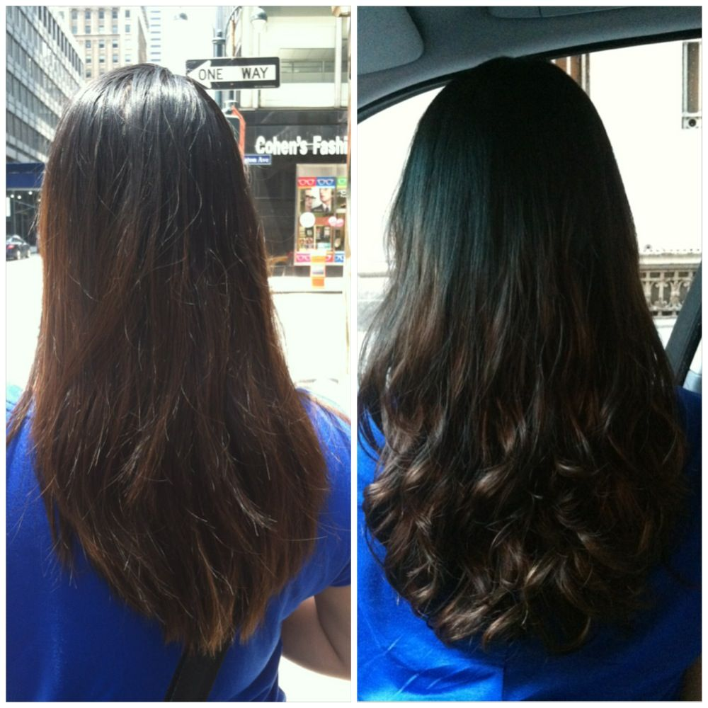 My Before And After Digital Perm Digital Perm Permed Hairstyles Long Hair Styles