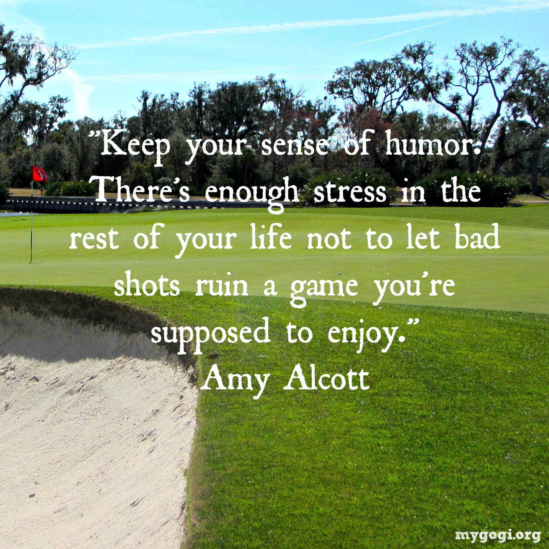 Golf And Life Quotes Remember At The End Of The Day It's Just A Gamegolfing