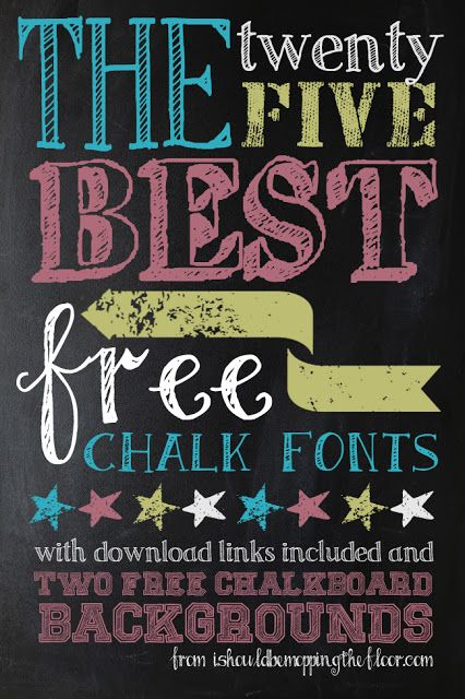 my 25 favorite free chalk fonts pinterest boden liebling und kostenlos. Black Bedroom Furniture Sets. Home Design Ideas