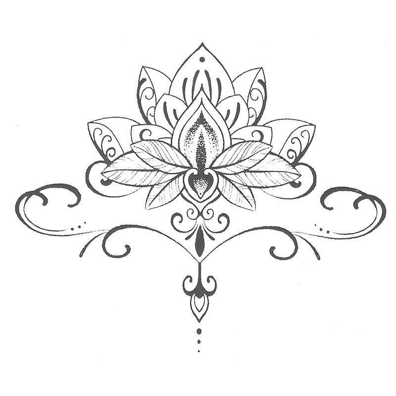 St128 1 pinteres - Fleur de lotus mandala ...