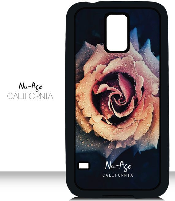 Wet Rose Design Pattern Samsung Galaxy S5 Case by NuAgeProducts, $13.23