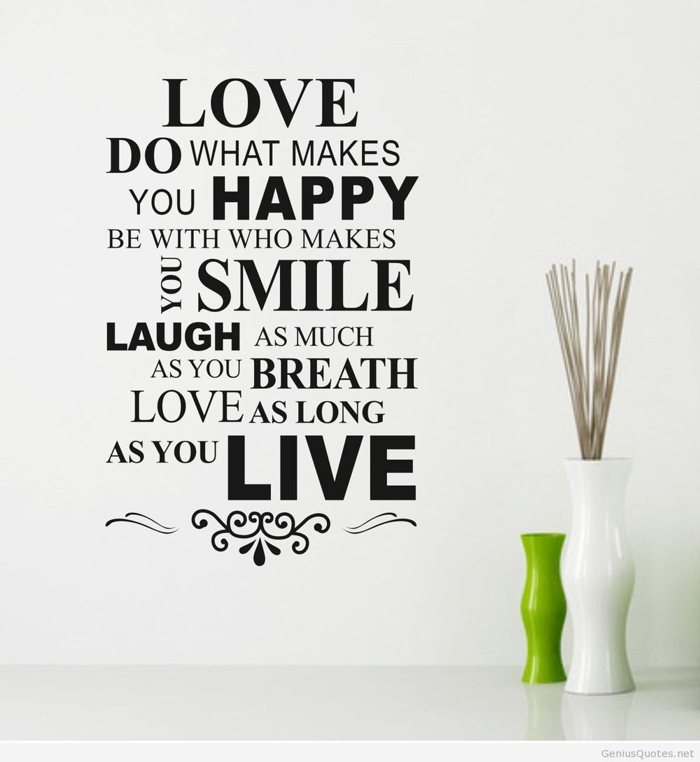 What Makes You Happy Quotes Happy Love Quotes With Wallpaper And Images  Best Games