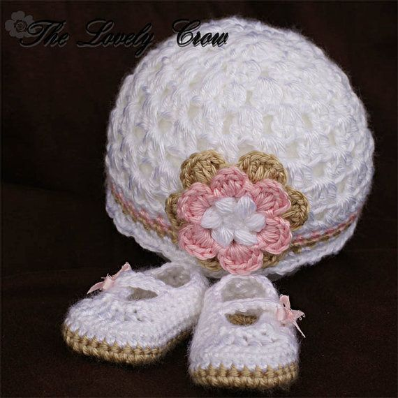 Crochet Pattern Set for Baby Ribbon Maryjane Booties, and Princess ...