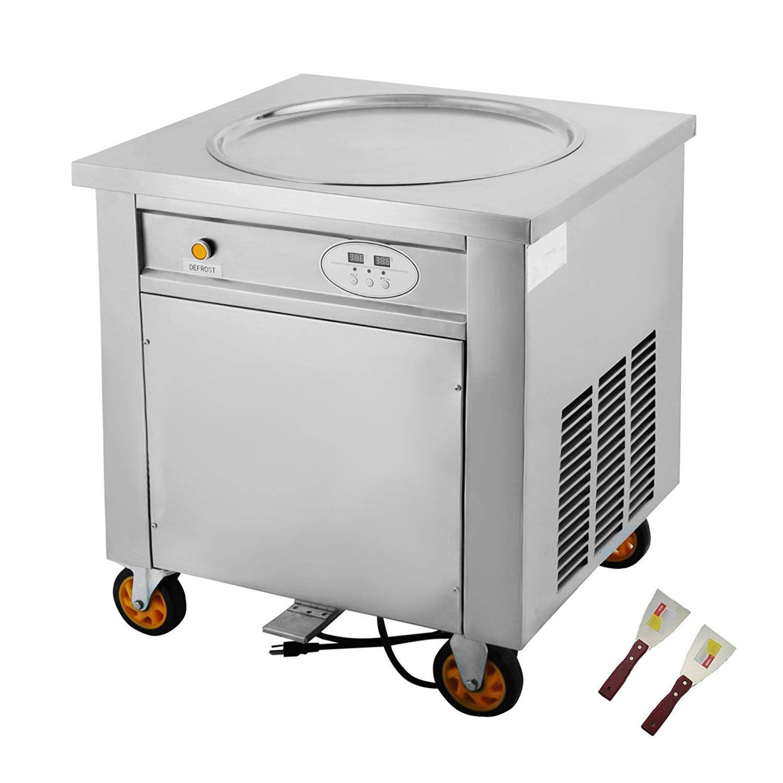 Bestequip Single Pan Fried Ice Cream Machine With Smart