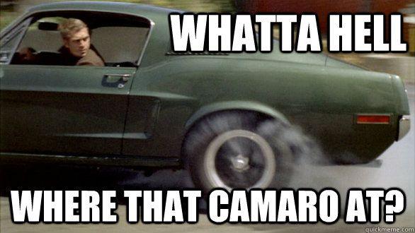 Mustang Vs Camaro Meme S American Muscle Camaro