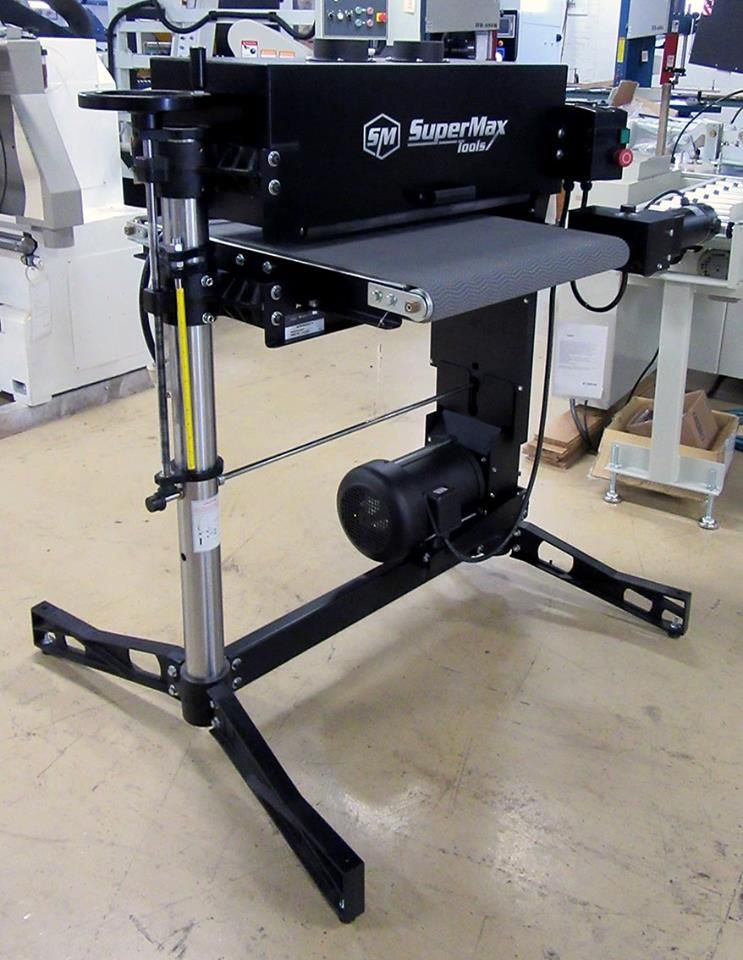 The Supermax Model Superbrush 24x2 Double Brush Sander Is Available At Hermance For All Your Sanding Needs Give Us A Call At 570 Doubles Sanders Drafting Desk