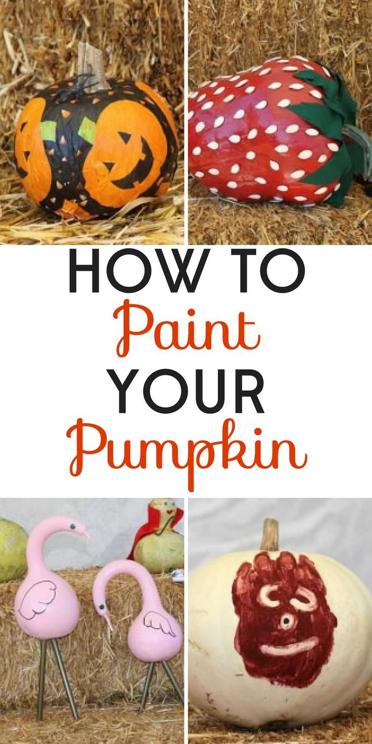 11 Painted Pumpkins and Tips for Making Them | Pumpkin painting