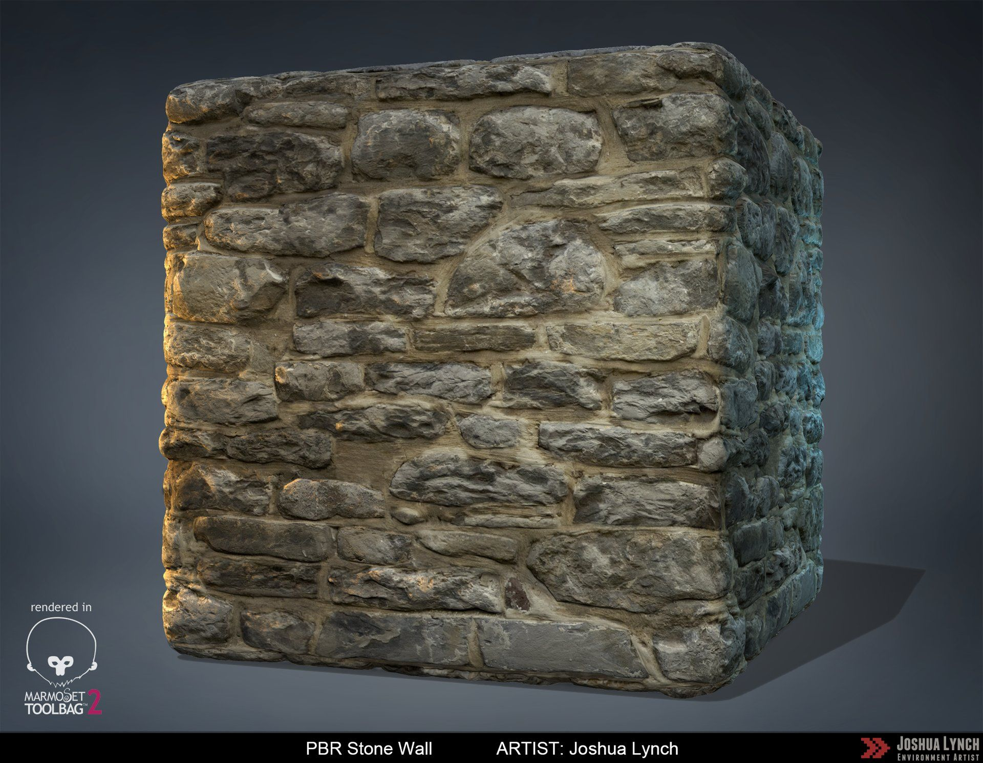 Download link httpsgumroadartofjoshlynch i have created a pbr stone wall sculpted in zbrush textured in photoshop rendered in marmoset baditri Gallery