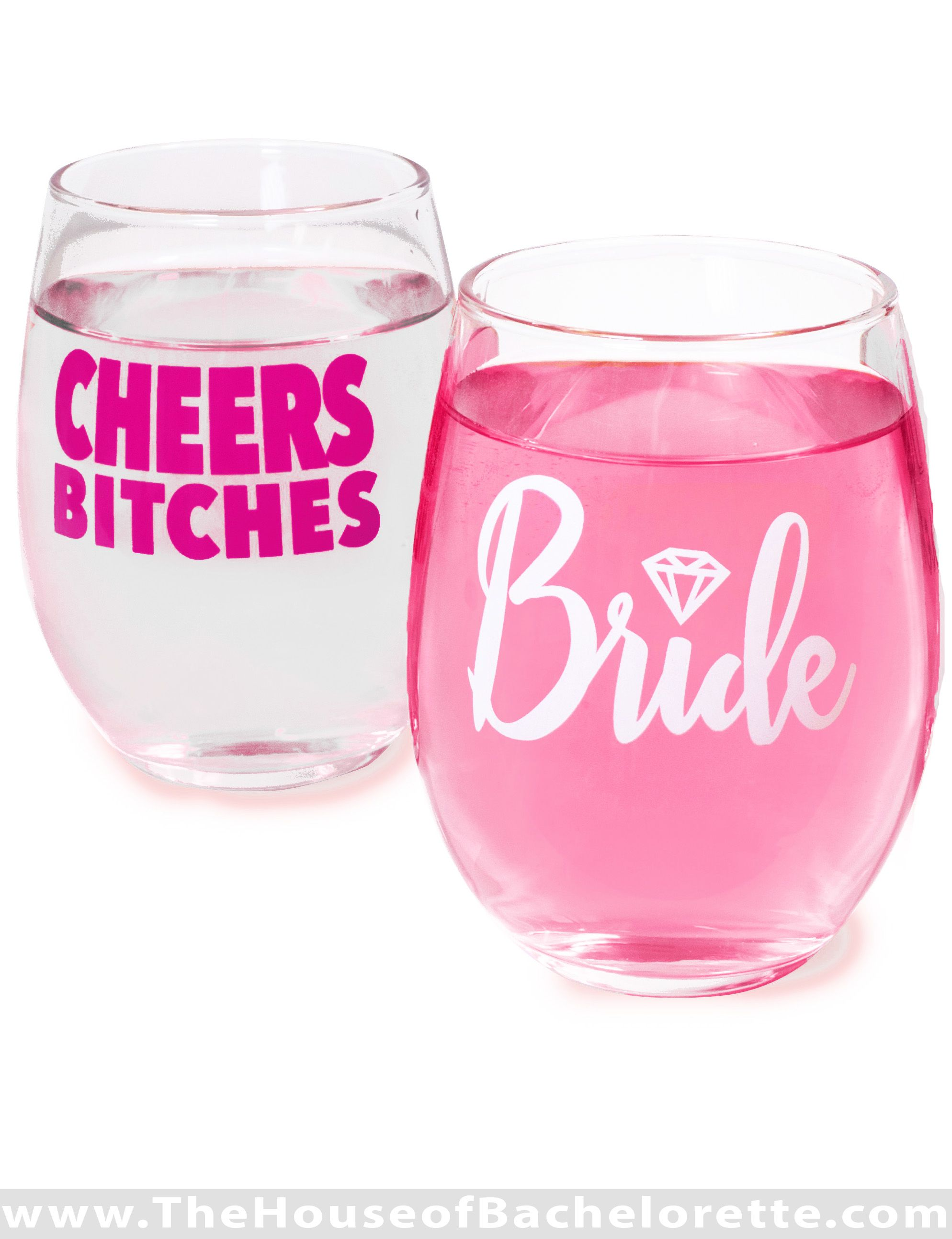 Give a Bachelorette Party favor everyone will LOVE! These stemless ...