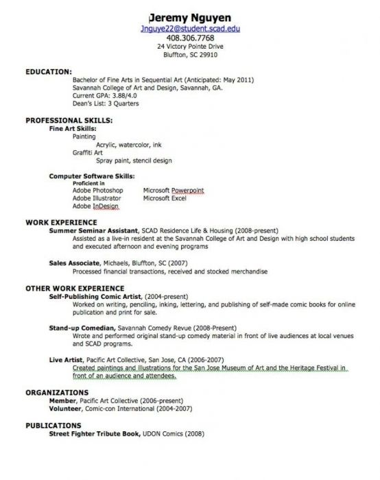 How To Make Your First Resume Resume Templates How To Make Your