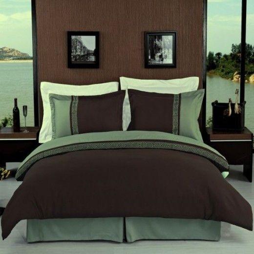 Extensive List Of Green And Brown Bedroom Ideas Duvet Cover Sets Cotton Bed Sheet Sets Duvet Sets