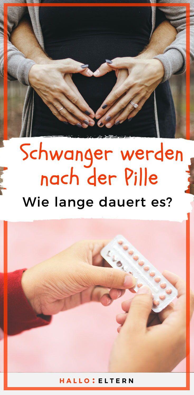 Schwanger werden nach Absetzen der Pille | Pille absetzen