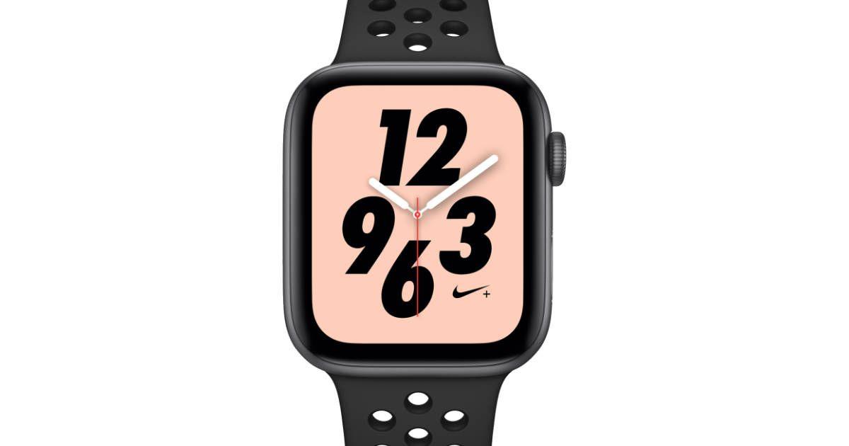 almacenamiento Hormiga ellos  Apple Watch Nike Series 4 Available Today | Apple watch, Apple watch nike,  Apple watch series