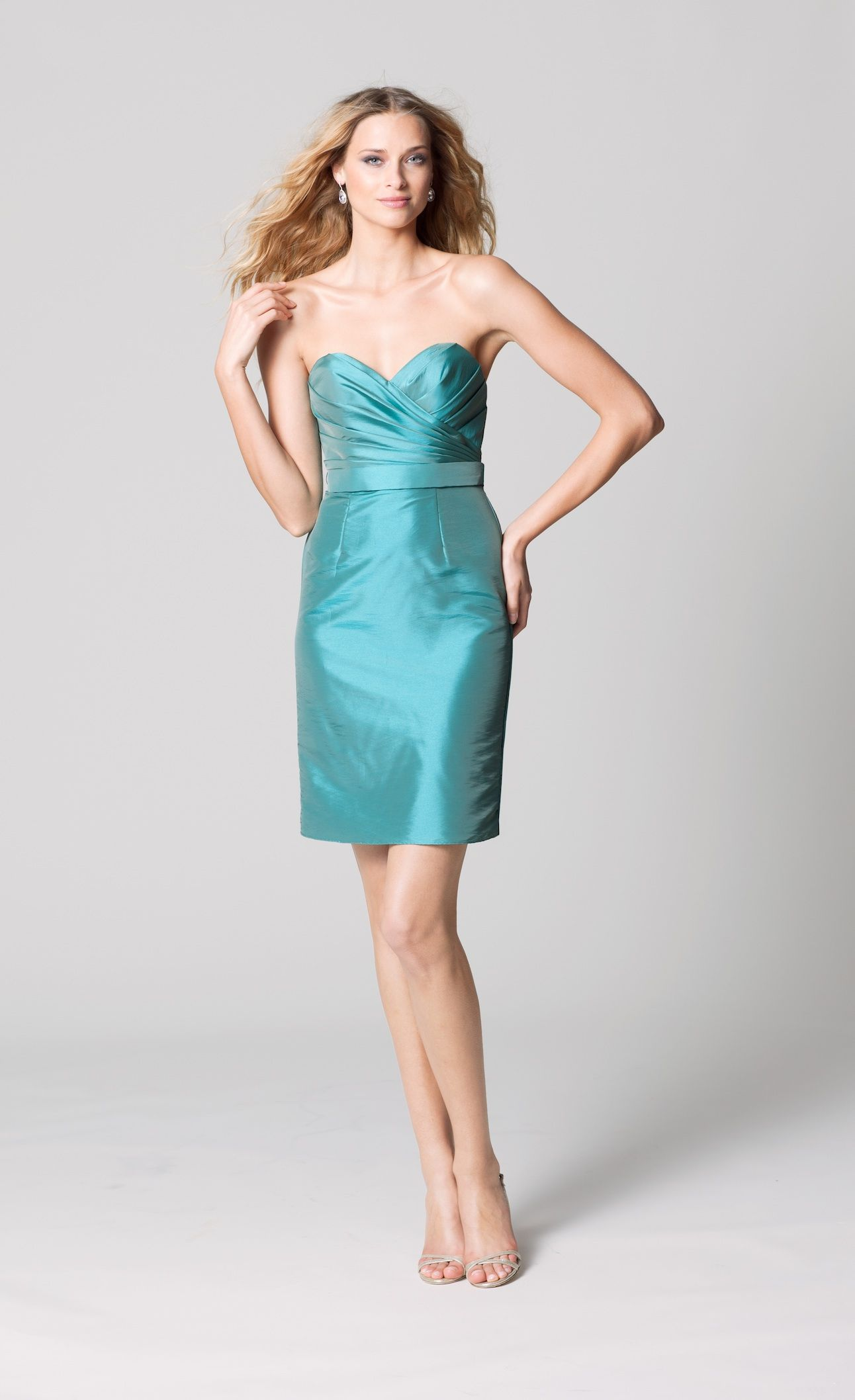 affordable bridesmaids dresses Fall 2012 WTOO by Watters bridal ...