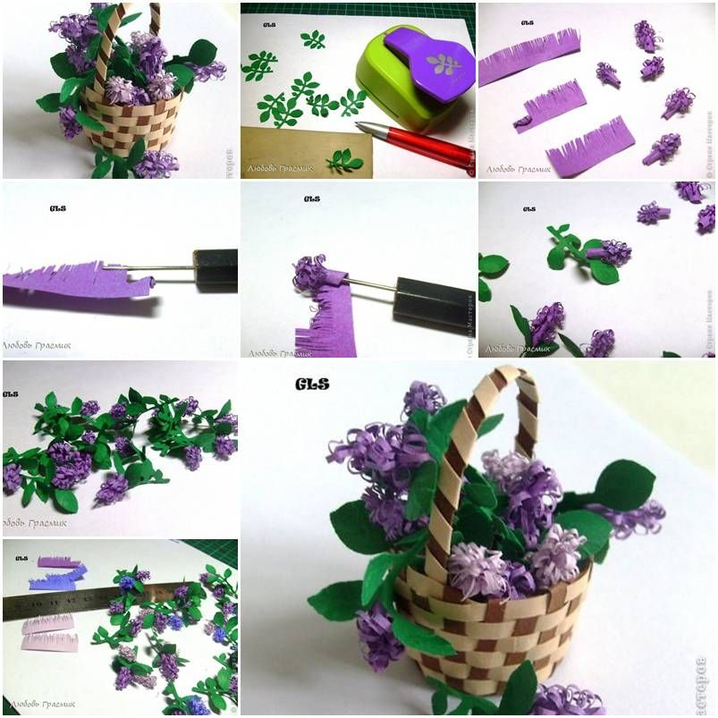 How To Make Paper Lilac Flower Step By Step Diy Tutorial