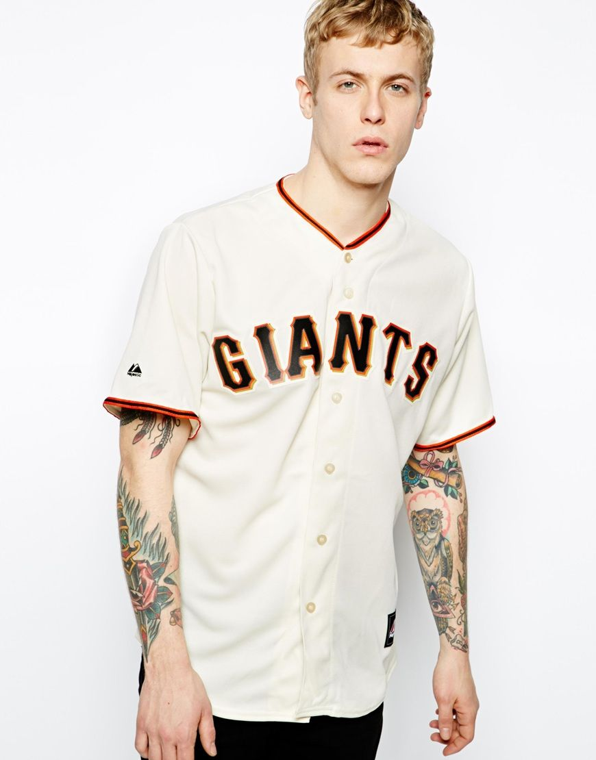 the latest 610c3 cd303 Majestic San Francisco Giants Home Baseball Jersey | Shirts ...