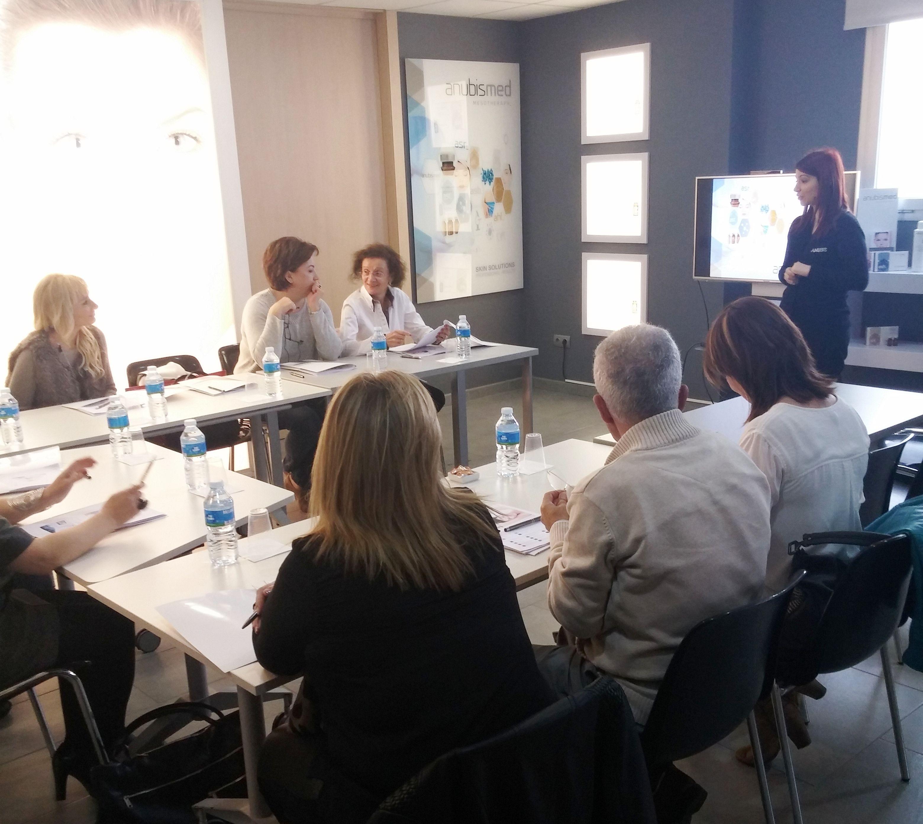 Formación al equipo de Lleida / Training for the Team of Lleida