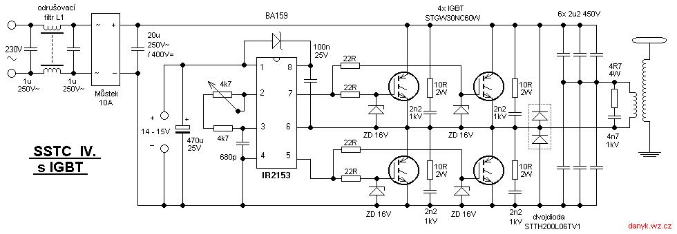 musical tesla coil schematic igbt schematics wiring diagrams u2022 rh seniorlivinguniversity co