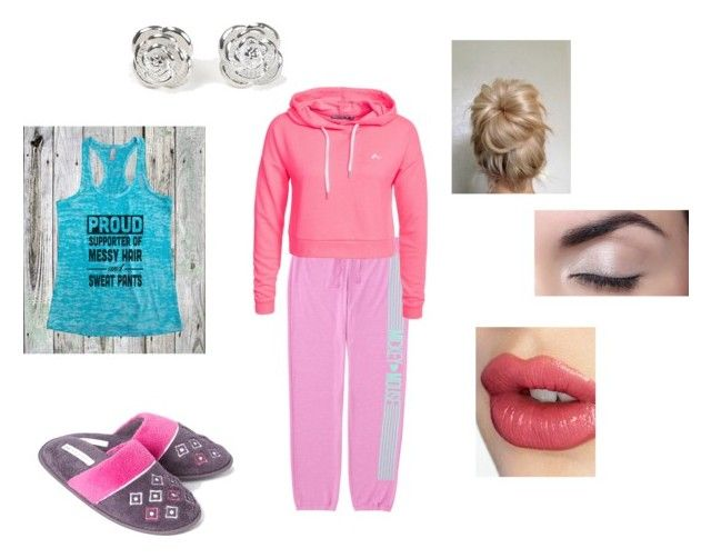 """""""Lazy day"""" by minionsareamwsome ❤ liked on Polyvore featuring Uniqlo, Only Play, Laura Ashley, Charlotte Tilbury and Maria Corcuera"""
