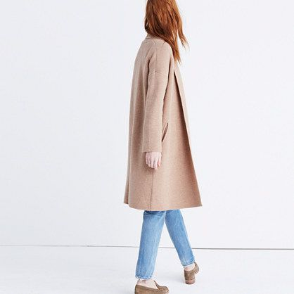 81f537ca5c90d Luxuriously oversized, this slouchy, substantial cardigan is made of soft  merino wool. Wear it as a coat or pop it on indoors for  no-blankets-required couch ...