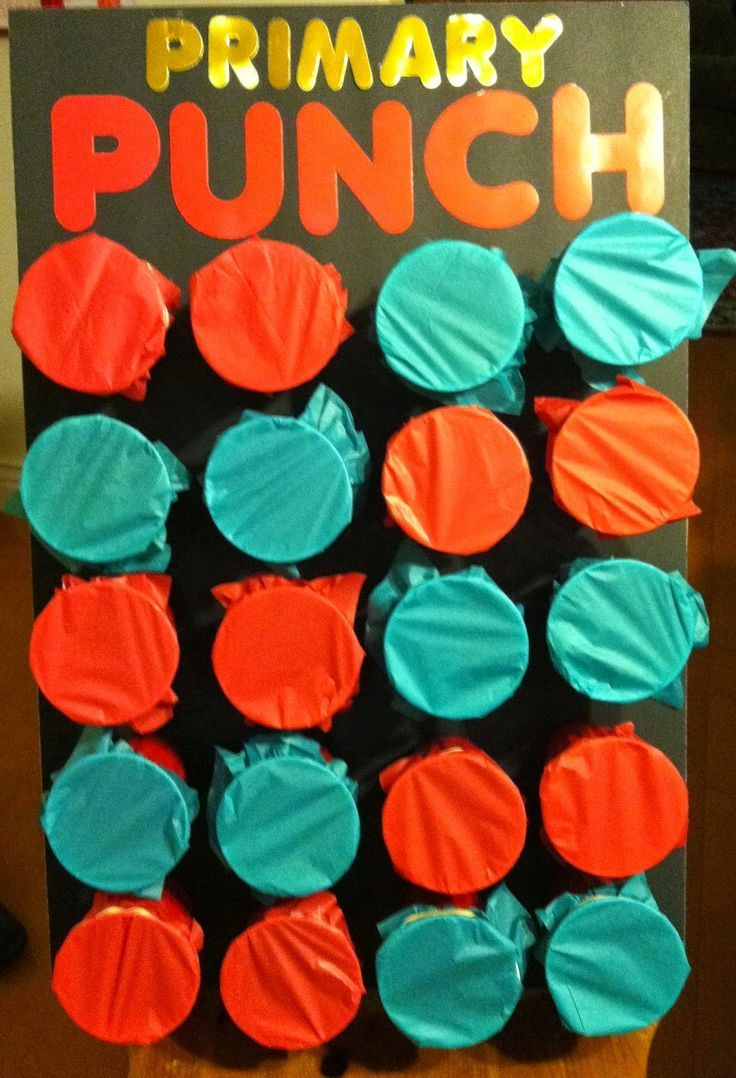 Fun Review Students Punch