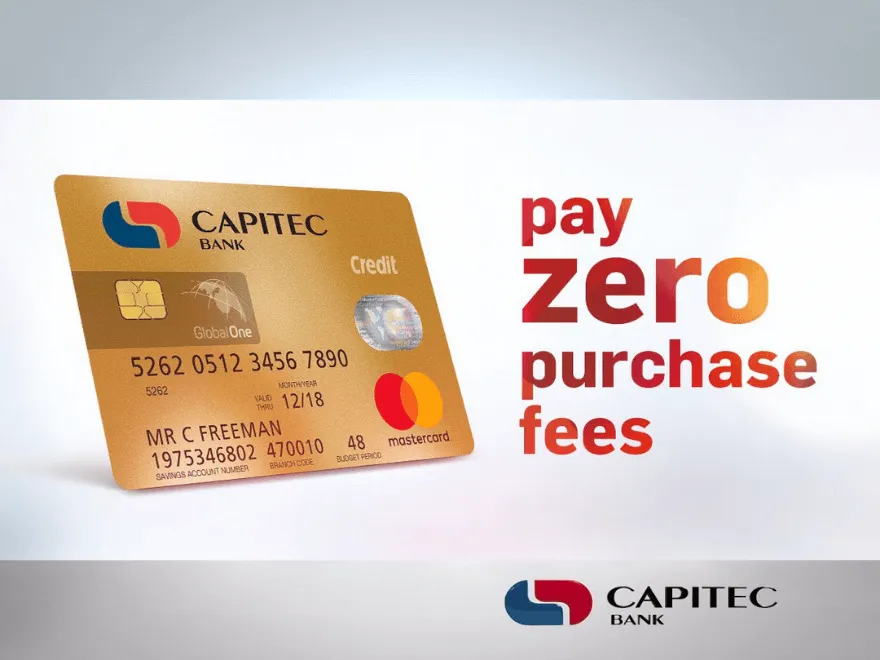Capitec Globalone Credit Card Moneytoday With Images Travel Credit Cards Credit Card Good Credit