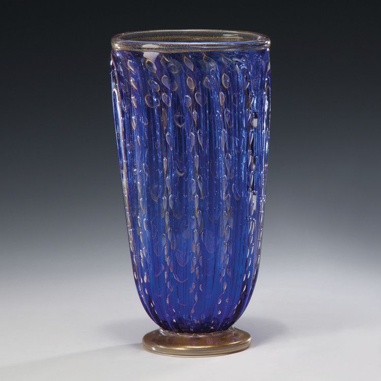 Decorative Crafts Venetian Glass Vase 7425