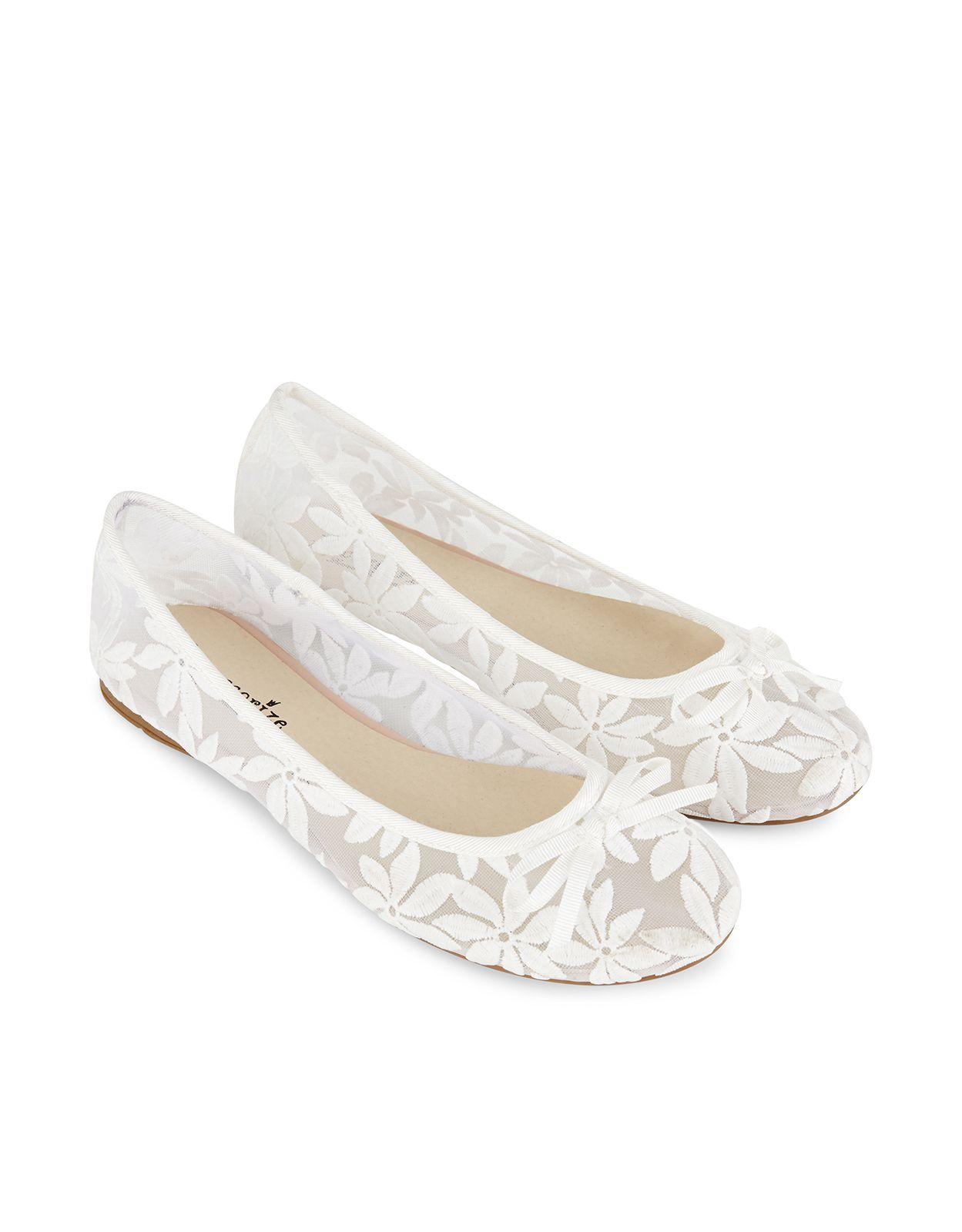 be35d206ef41 Daisy Lace Ballerina Shoes