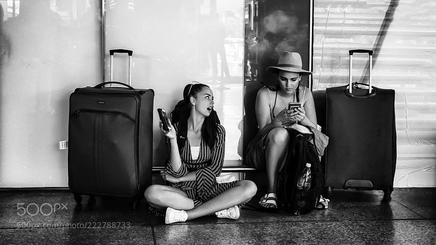Railway station #433 by robertodipatrizi