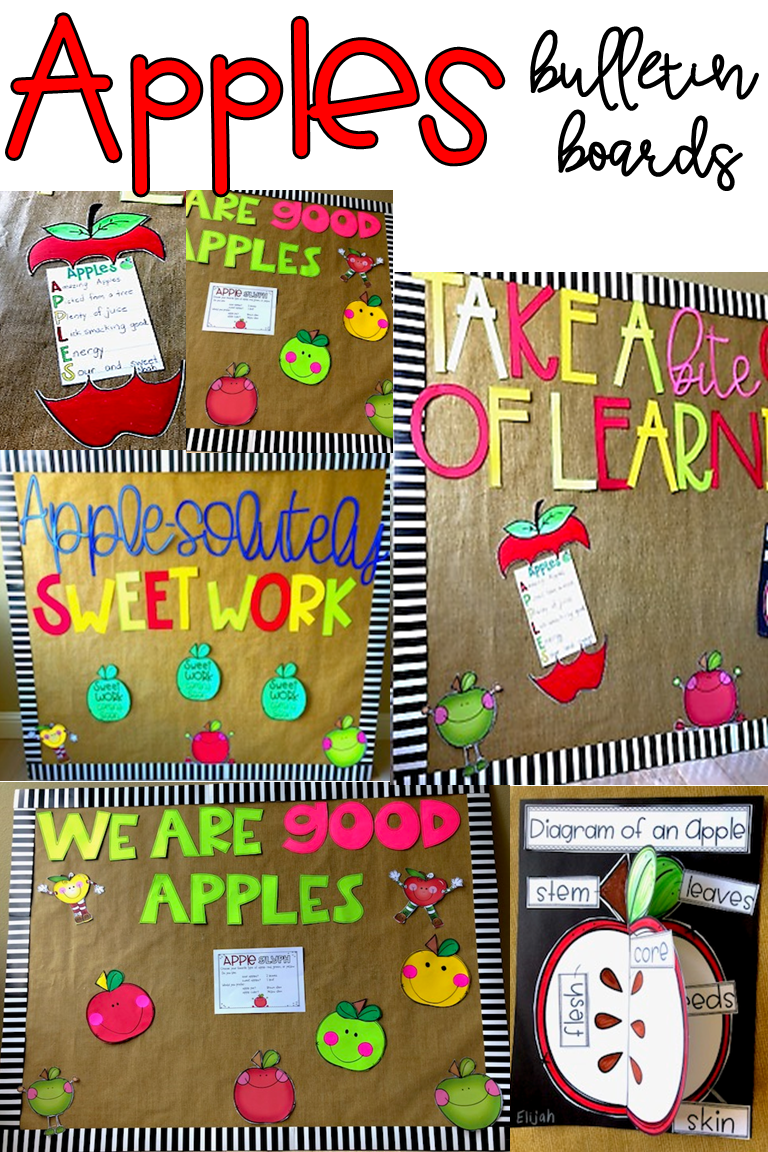 Apple Activities & Bulletin Boards | Grades 1-2: Ideas & Resources ...