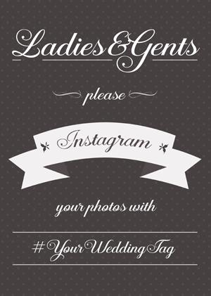 Instagram Wedding Sign Generator Instagram Wedding Sign Instagram Wedding Wedding Signs
