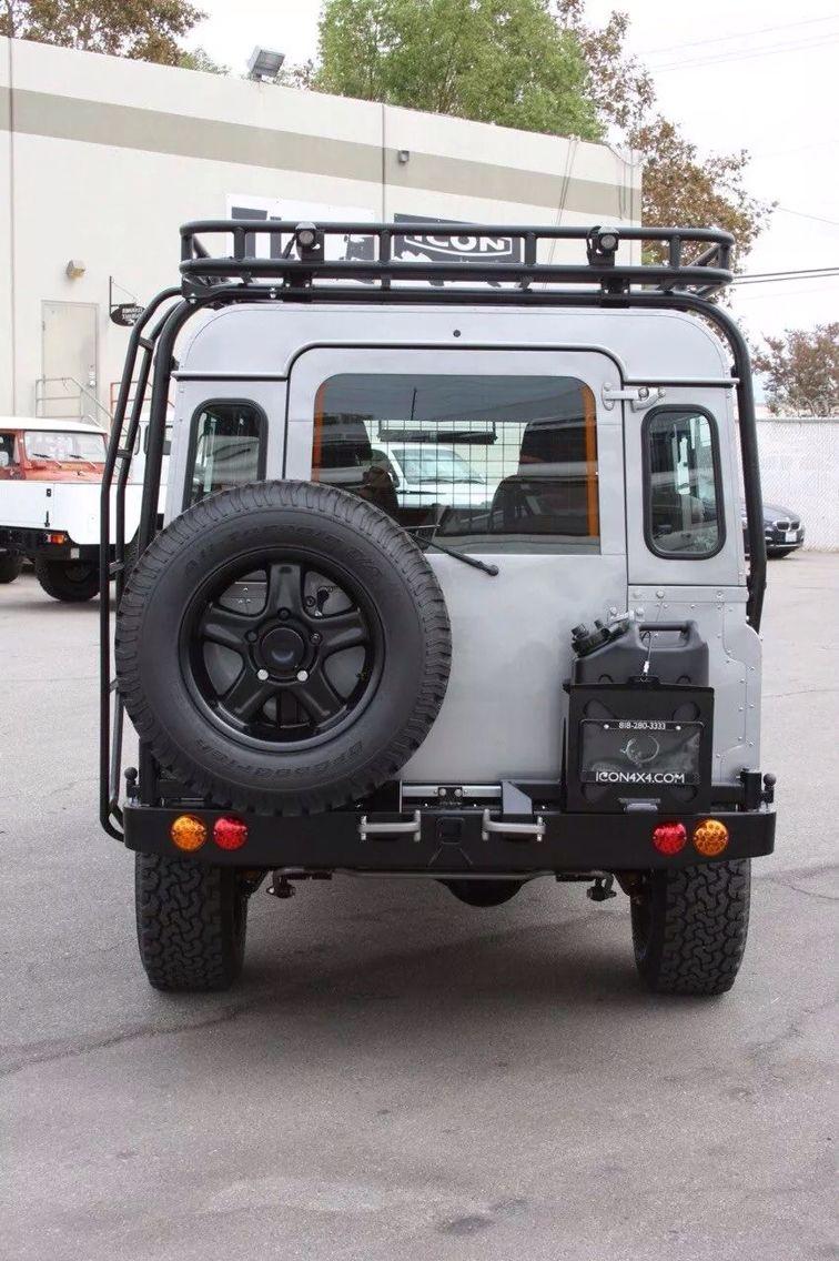 Icon 4x4 Defender 110 Defender camper, Land rover series