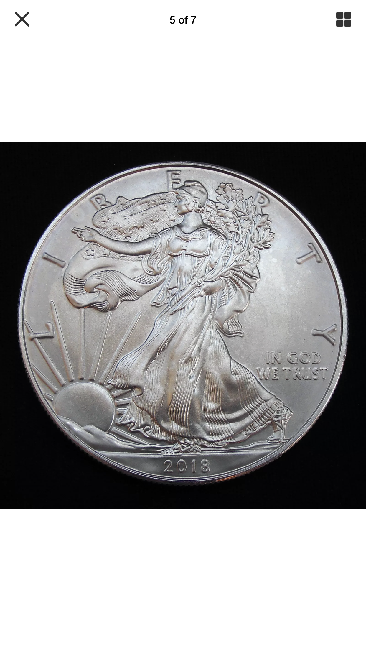 1 Oz Silver Liberty American Dollar Minted In 2018 American Dollar Hobo Nickel Silver