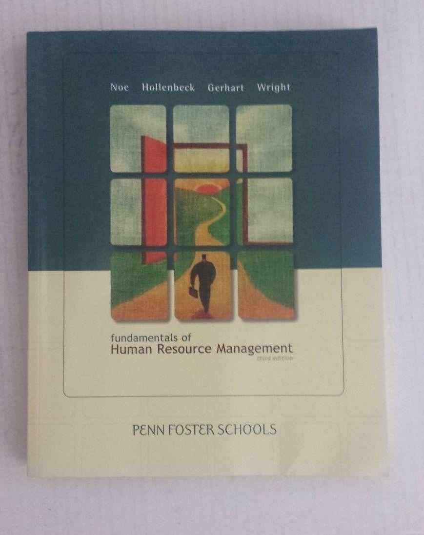 Fundamentals of human resource management 3rd edition penn