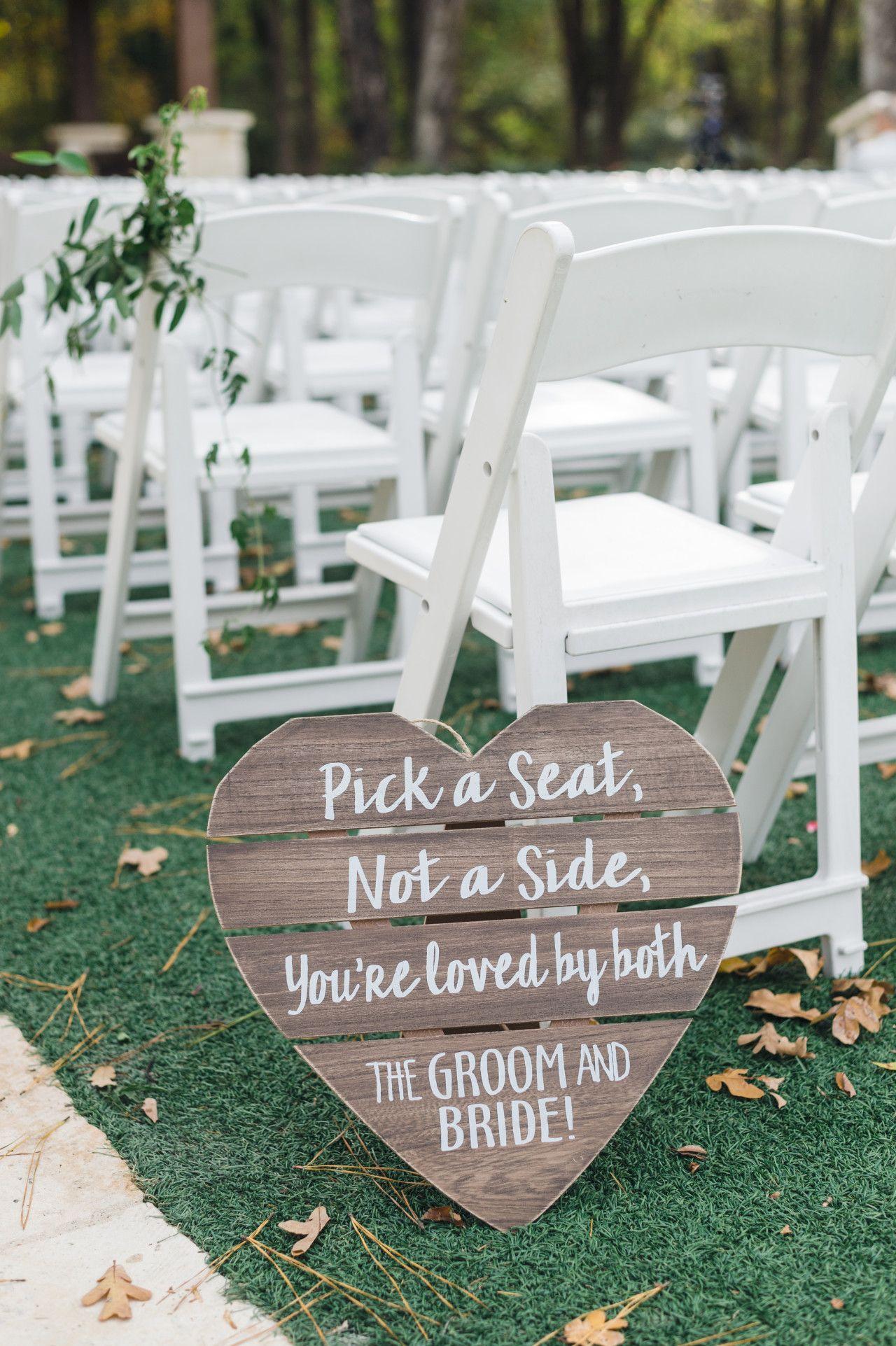 Poetry Hall Ceremony Signs Wedding Ceremony Signs Dallas