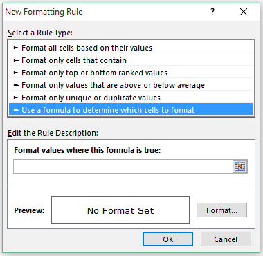Highlight Every Other Row In Excel Using Conditional Formatting Use A Fromula Excel Microsoft Excel Data